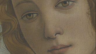 UVE: Botticelli Nascita di Venere, dettaglio. © Centrica