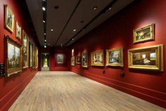 Gallerie d'Italia, Milano; progetto di Michele De Lucchi, area espositiva nel Palazzo Anguissola.