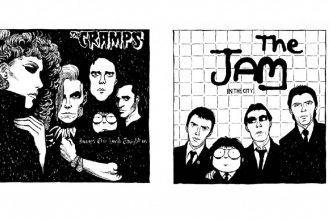 ┬®Vanna Vinci, Ramones - The Cramps - The Jam - Sex Pistols