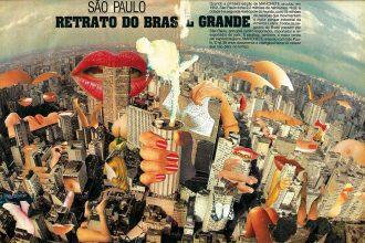 Author: Luca Fischer (Brazil) Title: Untitled Technique: Collage on paper Dimensions: 46 x 30 cm