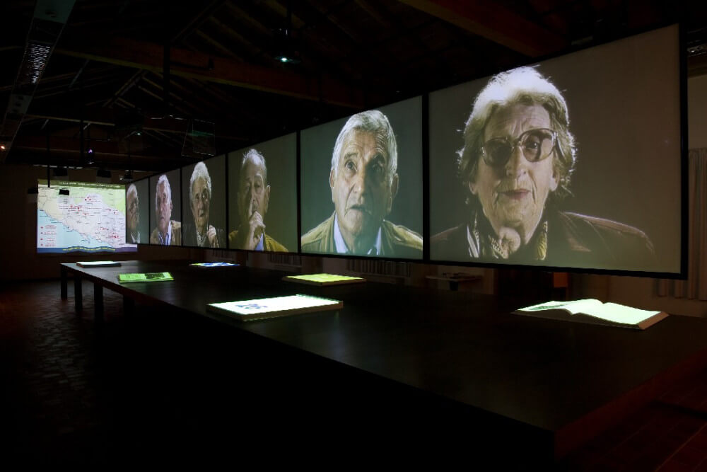 Museo Audiovisivo della Resistenza - Fosdinovo (MS) - Interno.