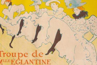 Da sinistra: Henri de Toulouse-Lautrec Jane Avril (Before Letters) 1893 - La Troupe de Mademoiselle Églantine 1896 - Divan Japonais 1893 Credits: © Herakleidon Museum, Athens Greece