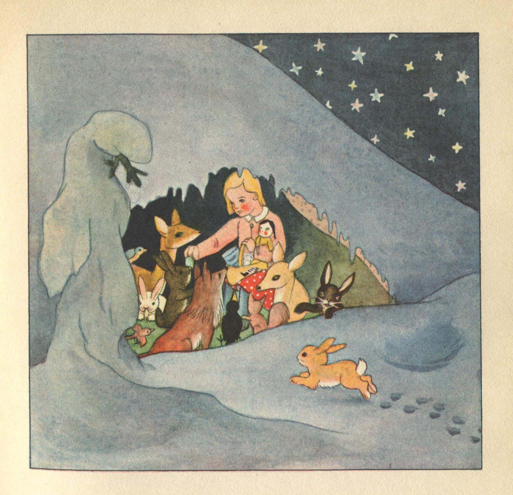 Evchen Im Winterwald, Elisabeth e Marigard Bantzer, 1932