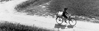 Delta del Po (D.110). Valle Pega, venditrice ambulante, 1954 - PARTICOLARE