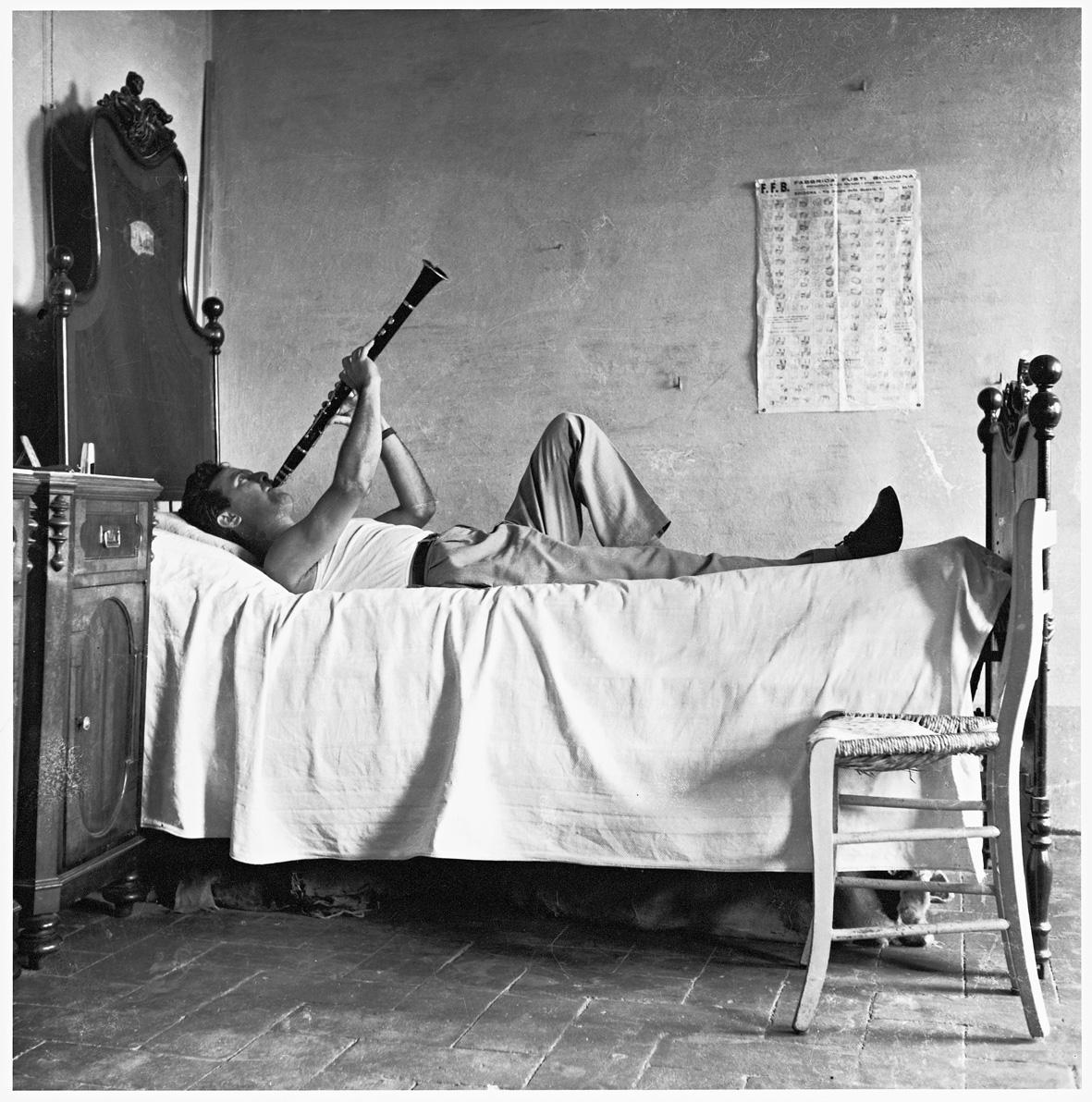 Pietro Donzelli: Giorno di festa, 1954 © Renate Siebenhaar, Estate  Pietro Donzelli, Frankfurt a. M.