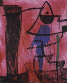 Joan Miró Untitled, 1974 ca Oil, acrylic and chalk on canvas 162,5x130,7 cm © Successió Miró by SIAE 2017 Archive Fundació Pilar i Joan Miró a Mallorca © Joan Ramón Bonet & David Bonet