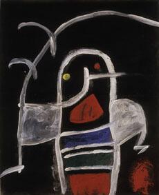 Joan Miró Untitled, 1975-78 ca Oil, acrylic, varnish and pencil on plywood 76,5x62 cm © Successió Miró by SIAE 2017 Archive Fundació Pilar i Joan Miró a Mallorca © Joan Ramón Bonet & David Bonet