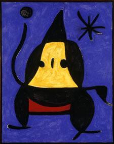 Joan Miró Untitled, 1978 Oil on canvas, 92x73 cm © Successió Miró by SIAE 2017 Archive Fundació Pilar i Joan Miró a Mallorca © Joan Ramón Bonet & David Bonet