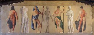 Lo scheletro vivo di Achille Funi (copertina)