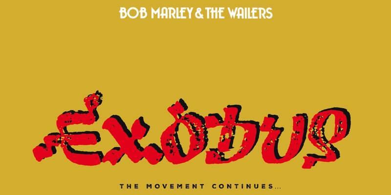 La copertina della riedizione celebrativa di Exodus di Bob Marley