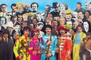Chiedi chi erano i Beatles.<br> La copertina di Sgt. Pepper's <br>vi risponderà…