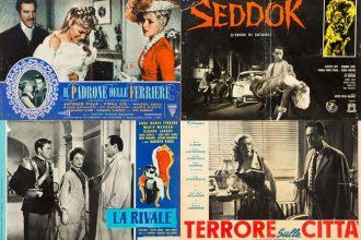 Alcune locandine dei film di Anton Giulio Majano