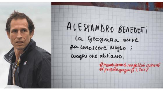 Festival delle Geografie Alessandro Benedetti