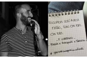 Filippo Lubrano e del saper viaggiare in città <br> con le solite scarpe di sempre