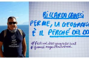 RICCARDO CANESI <br>&#8220;UN SOS PER LA GEOGRAFIA&#8221;