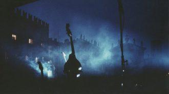 07  -  Mantova,  piazza  Sordello,  1988 Ghirri