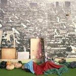 ©  Eredi  di  Luigi  Ghirri  /  Courtesy  Editoriale  Lotus)   -  Il  progetto  domestico,  XVII  Triennale  di  Milano,  1986.  OMA,  ૾Body-building  home:  la  casa  palestra૿